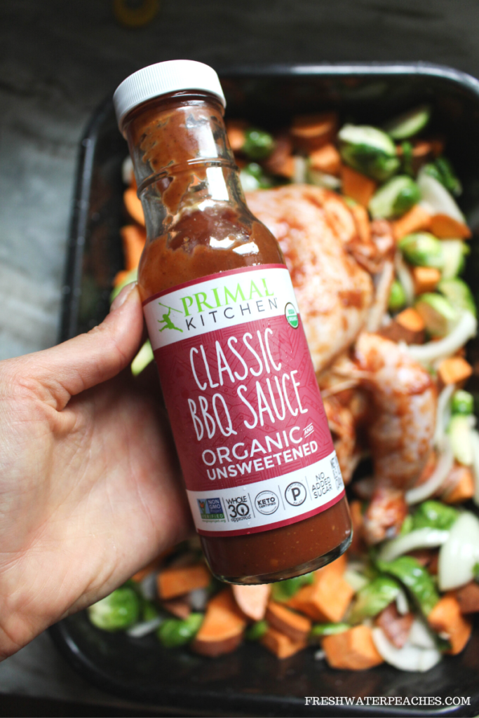 Picture of Primal Kitchen Classic BBQ Sauce.